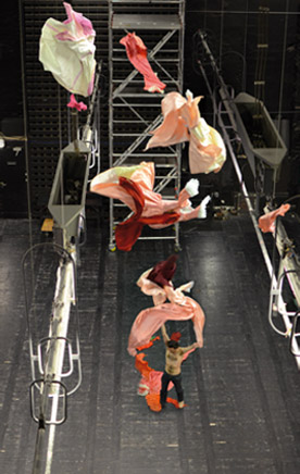 Projection de costumes grand théâtre d'Angers